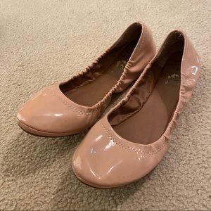 Blush Lucky Brand Ballet Flats
